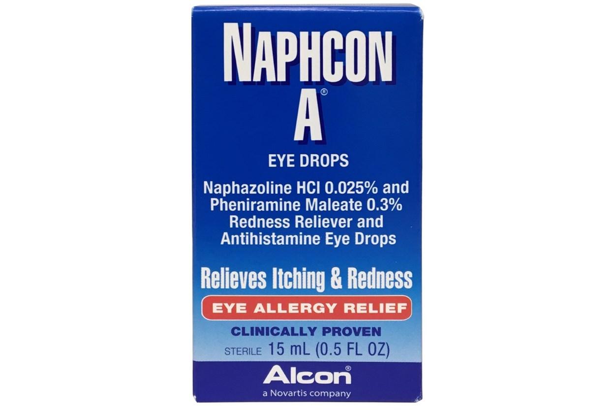 Naphcon A allergy eye drops