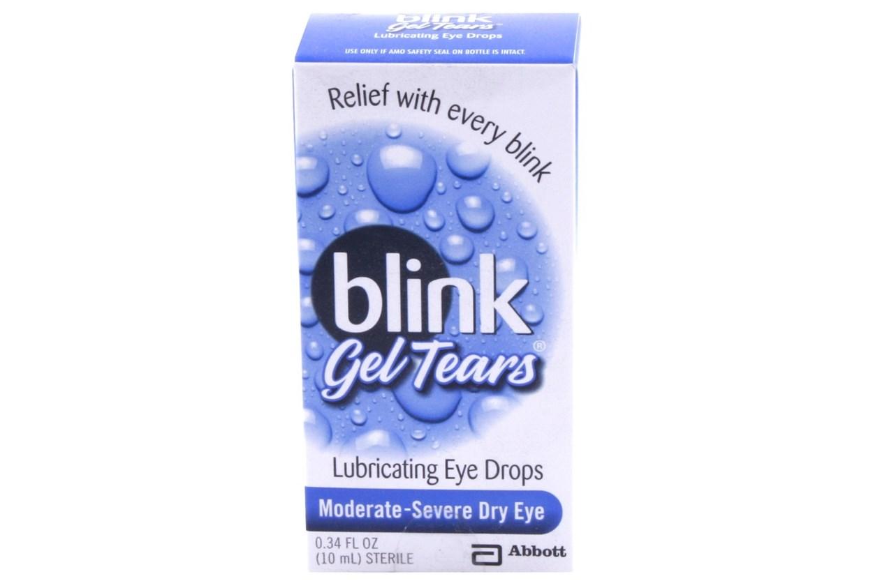 blink gel tears eye drops