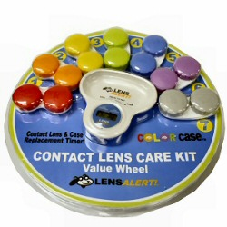 contact lens timer