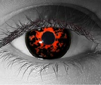Helghast contact lenses