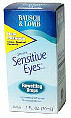 renu sensitive eye drops