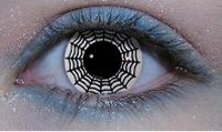 spiders web contact lenses
