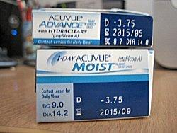 contact lens prescription