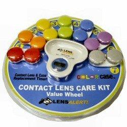 contact lens timer