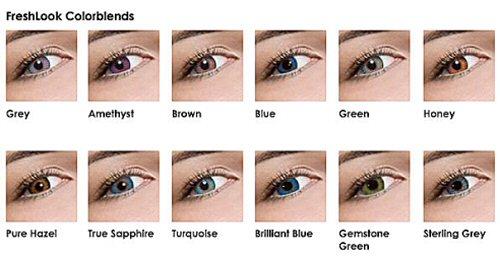freshlook colorblends color chart