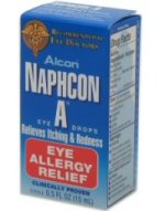 Naphcon A allergy eye drops