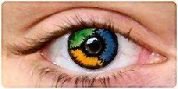 wacky contact lenses