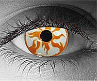 Pyro contact lenses