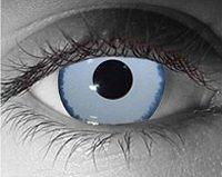 Mirror effect contact lens